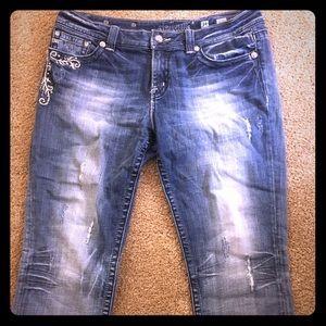 Miss Me Capri Jeans JE5349C4 Cropped